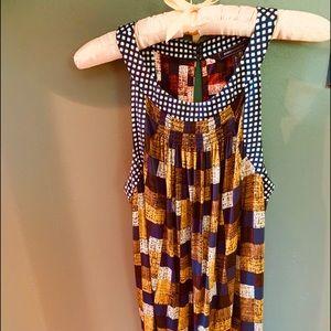 BCBG patterned dress